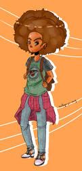 Teen Huey Freeman? by o0Essa0o
