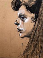 Portrait Sketch 4 by Javier-Harriman