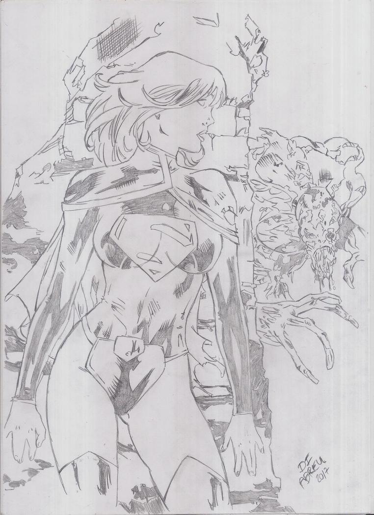 Supergirl (New 52) by DI Abreu by italoabreu