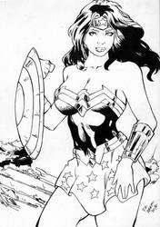 Wonder Woman by Di Abreu