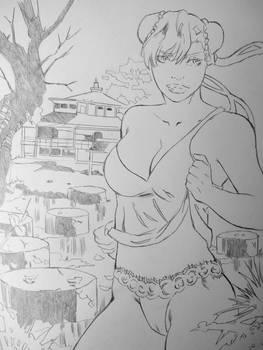 Chun-li Street Fighter by DiAbreu