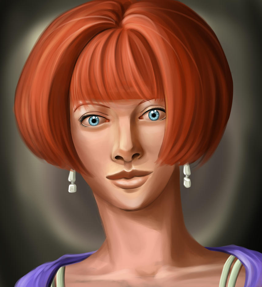 Portrait 8 by Duran-F