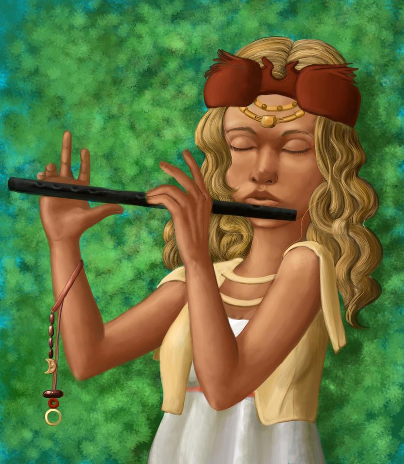 flutist by Duran-F