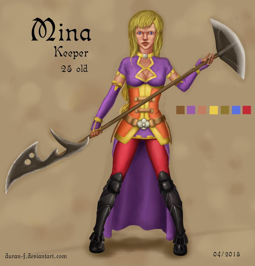 Mina - Keeper by Duran-F