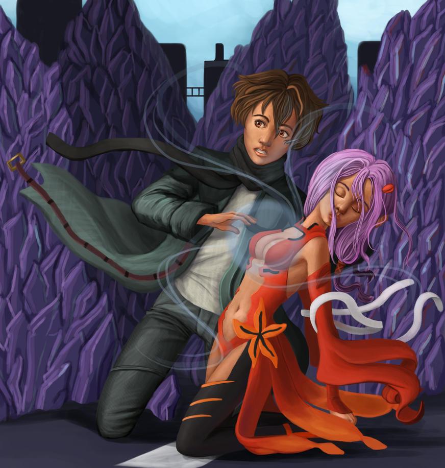 Shu and Inori by Duran-F