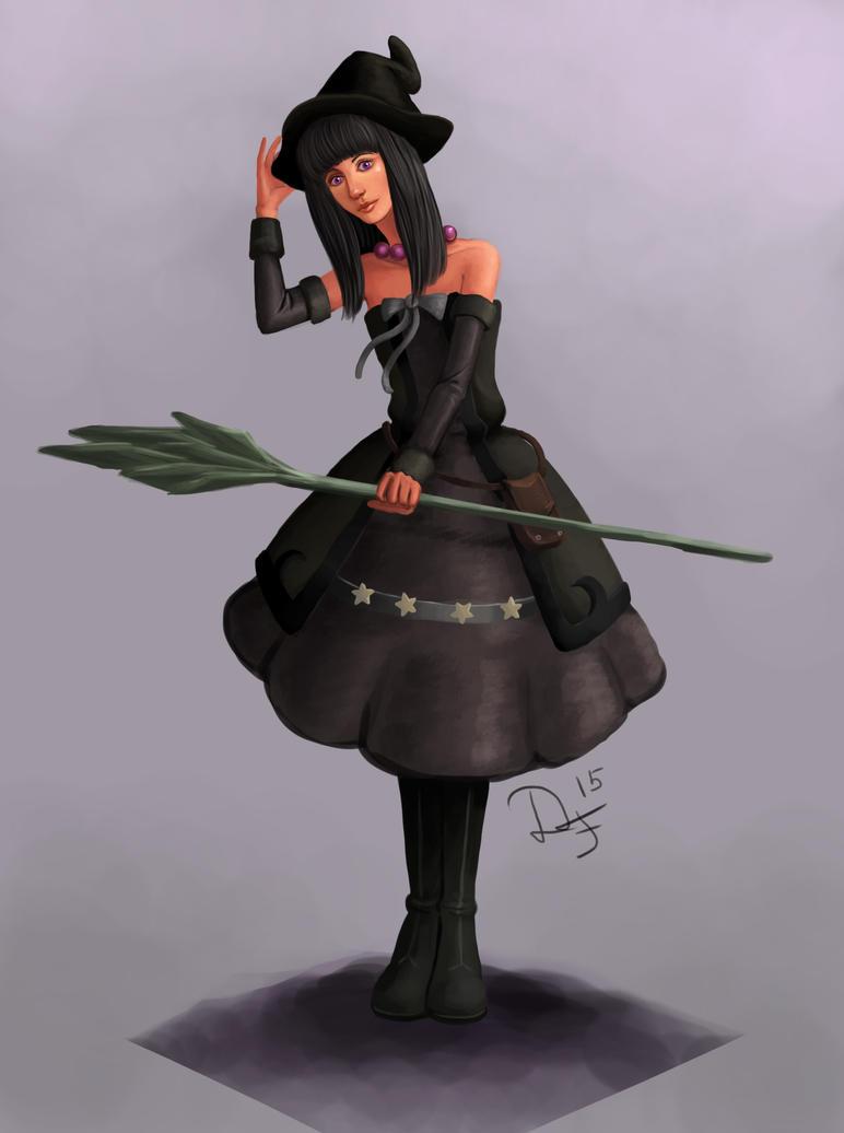 Witch Sasha by Duran-F