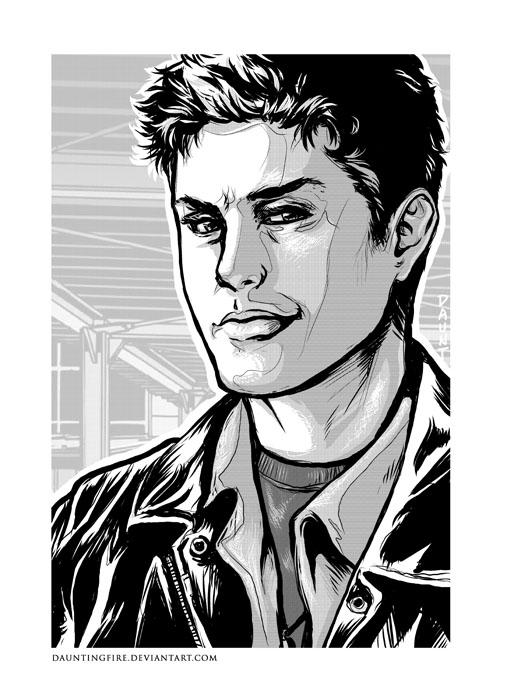 Akarat Erő Próba: Ereklye Vadászok Dean_Winchester___Comic_by_dauntingfire