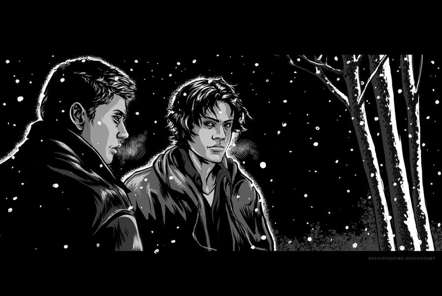 DEAD WINTER - the winchesters by dauntingfire