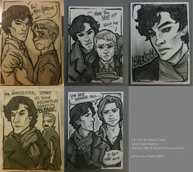 Sherlock + Supernatural Cards by dauntingfire