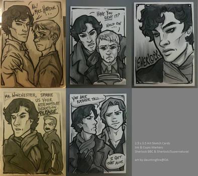 Sherlock + Supernatural Cards
