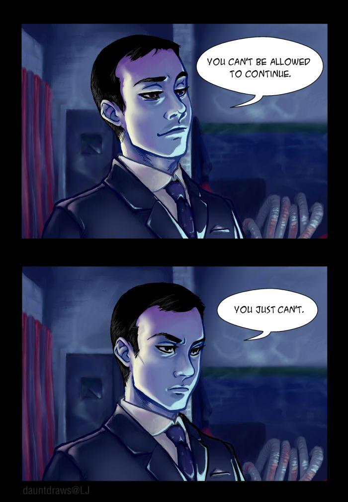 Sherlock BBC: Moriarty Spoiler by dauntingfire