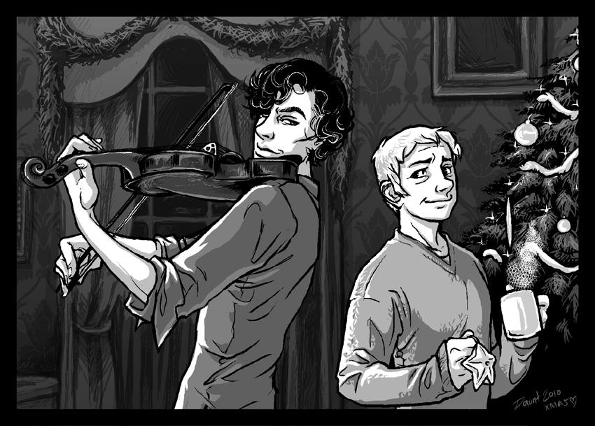 Sherlock BBC: Happy Christmas by dauntingfire