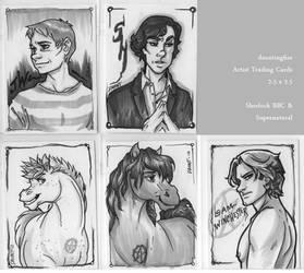 Sherlock + SPN Cards 2