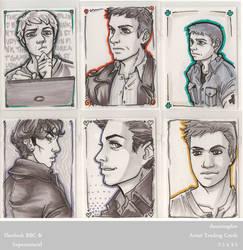 Sherlock + SPN Cards 3