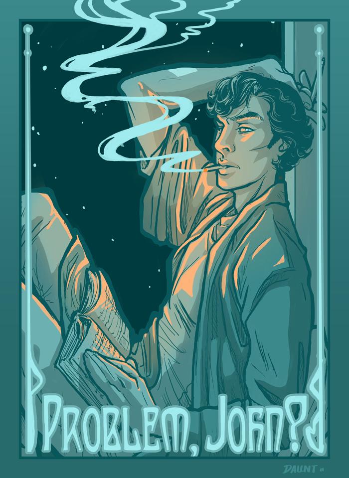Sherlock: Problem, John? by dauntingfire