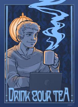 Sherlock: John Suggests Tea