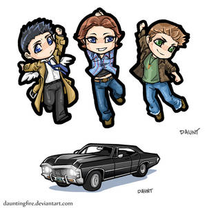 Supernatural: Cell Charms