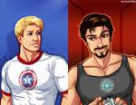 Steve Rogers + Tony Stark