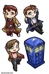 Tiny Doctor Who Charms + Jack