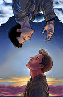 Split the Sky and Tear Down Heaven SPN Dean/Cas by dauntingfire