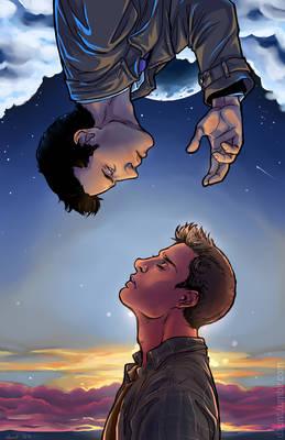 Split the Sky and Tear Down Heaven SPN Dean/Cas