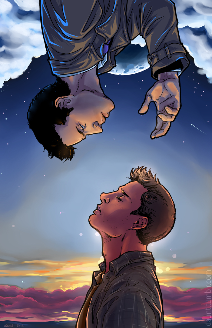 Split the Sky and Tear Down Heaven SPN Dean/Cas by dauntingfire