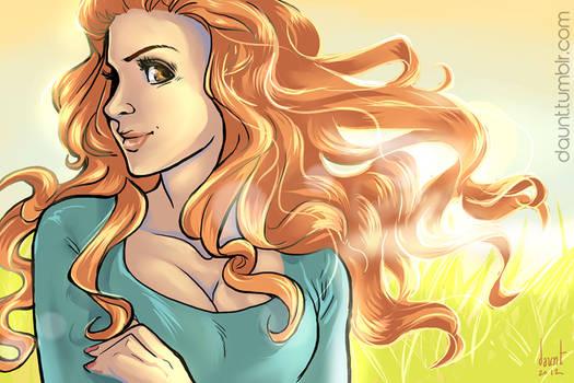 Ginger Fabulous: Lydia Martin