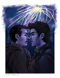 Fireworks: Teen Wolf