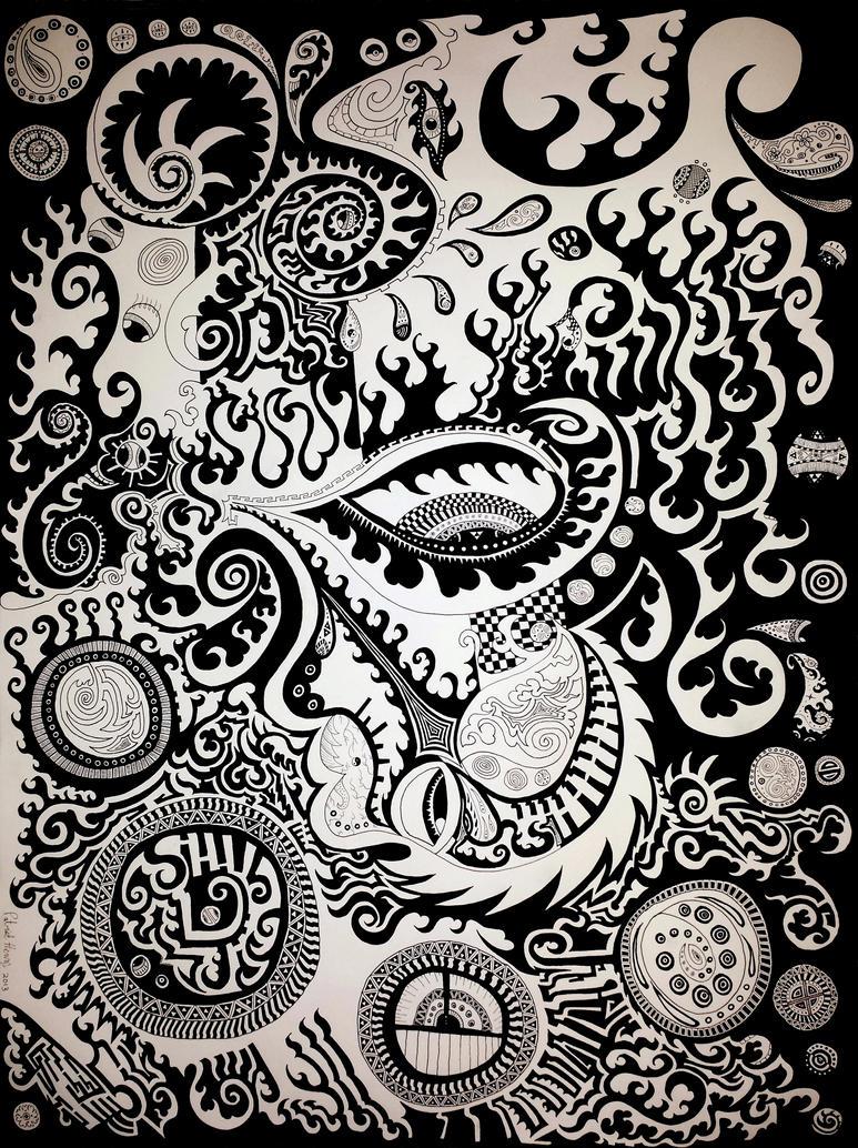 Dreaming Awake by Fractalvision