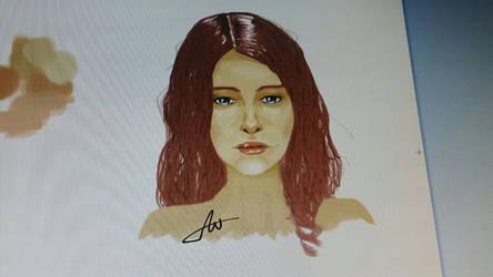 paint portrait
