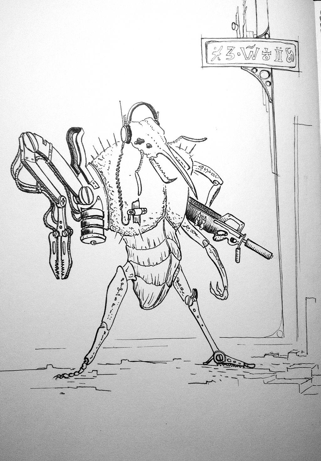 Cyberpunk Bug
