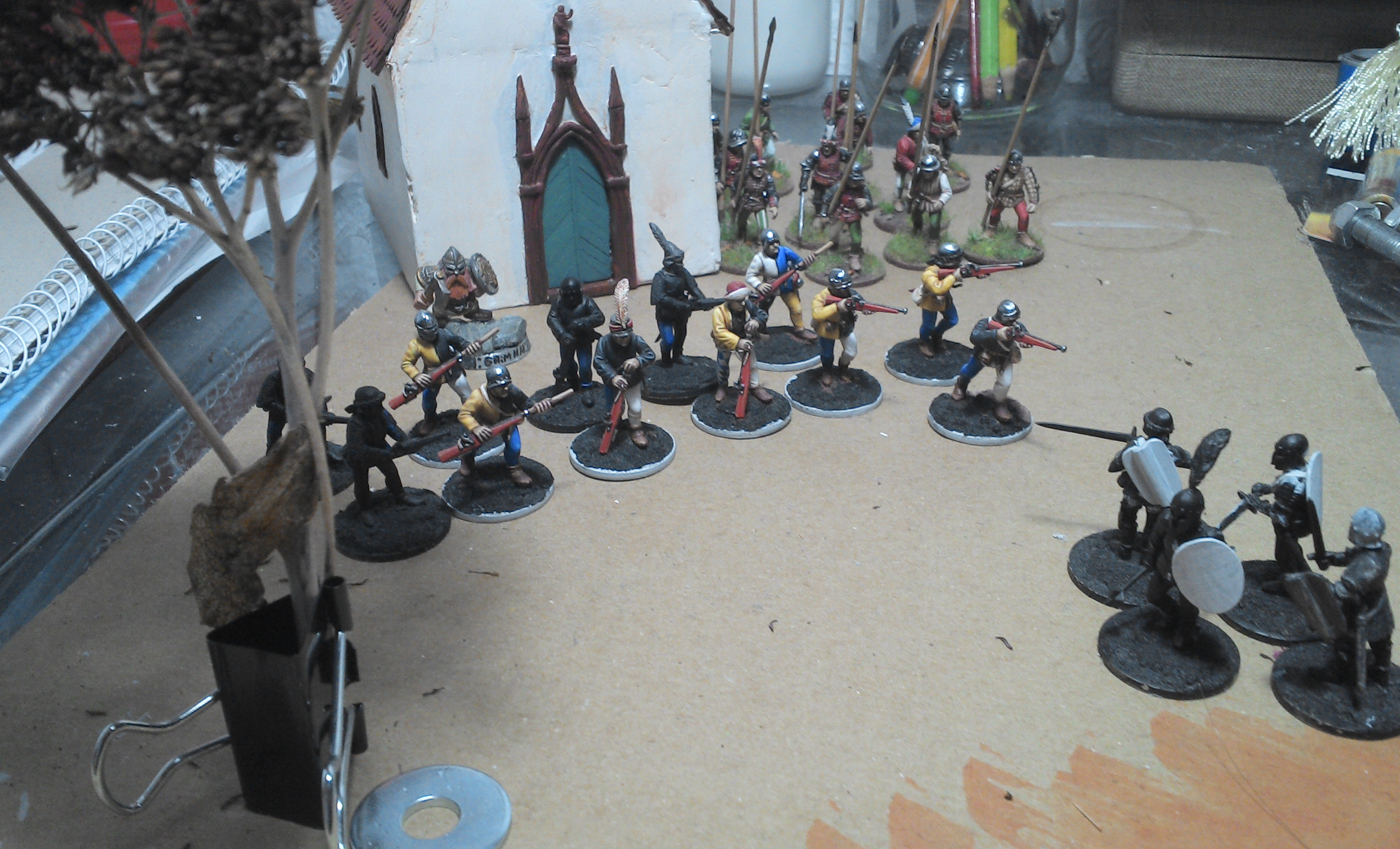 Some Medieval 28mm Tabletop coming up! by Ludwig1920