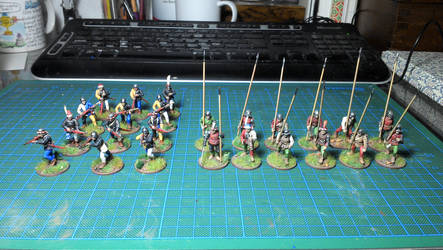 My mercenary army grows. 28mm tabletop by Ludwig1920