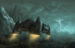 Transport Ship by kryoth