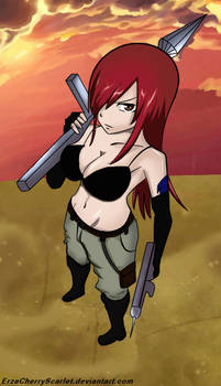 Erza the fighter