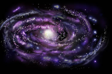 Purple Galaxy by FCF69