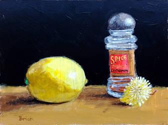 Lemon, spice, dandelion by brianvds