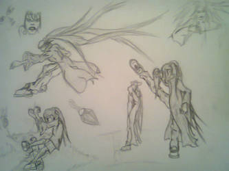 Trying of drawings of action situation by Anturion
