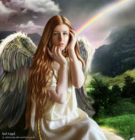 Sad Angel by alesscop