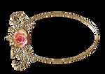 Rose Gold Oval Frame