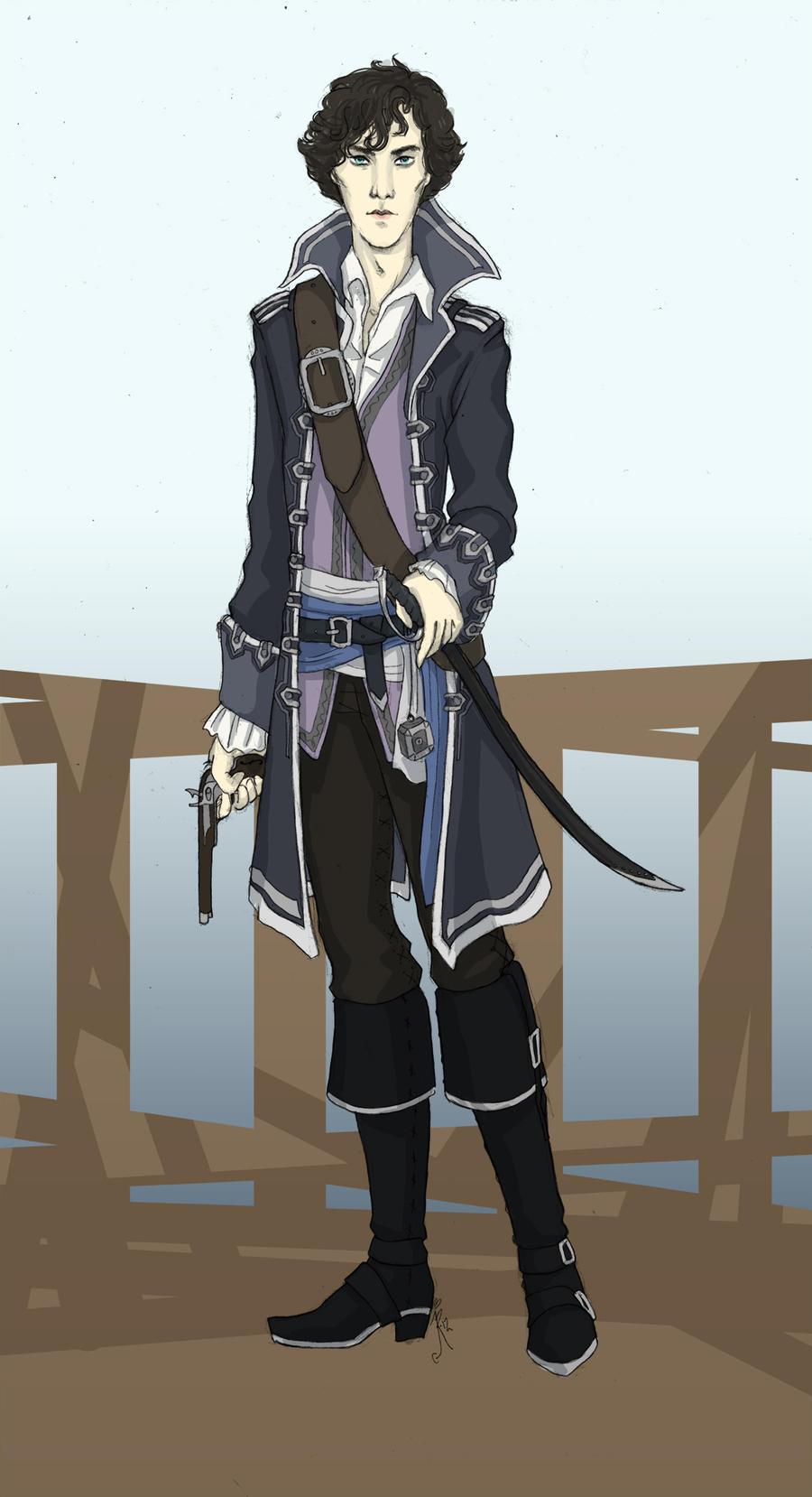 Captain Holmes by miryah