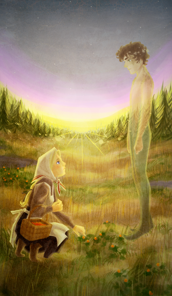 Berrypicking and Swamp spirits by miryah