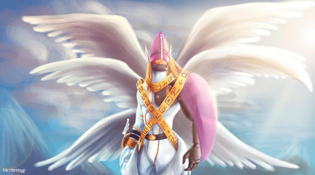 holyangemon by erichenrique on deviantart