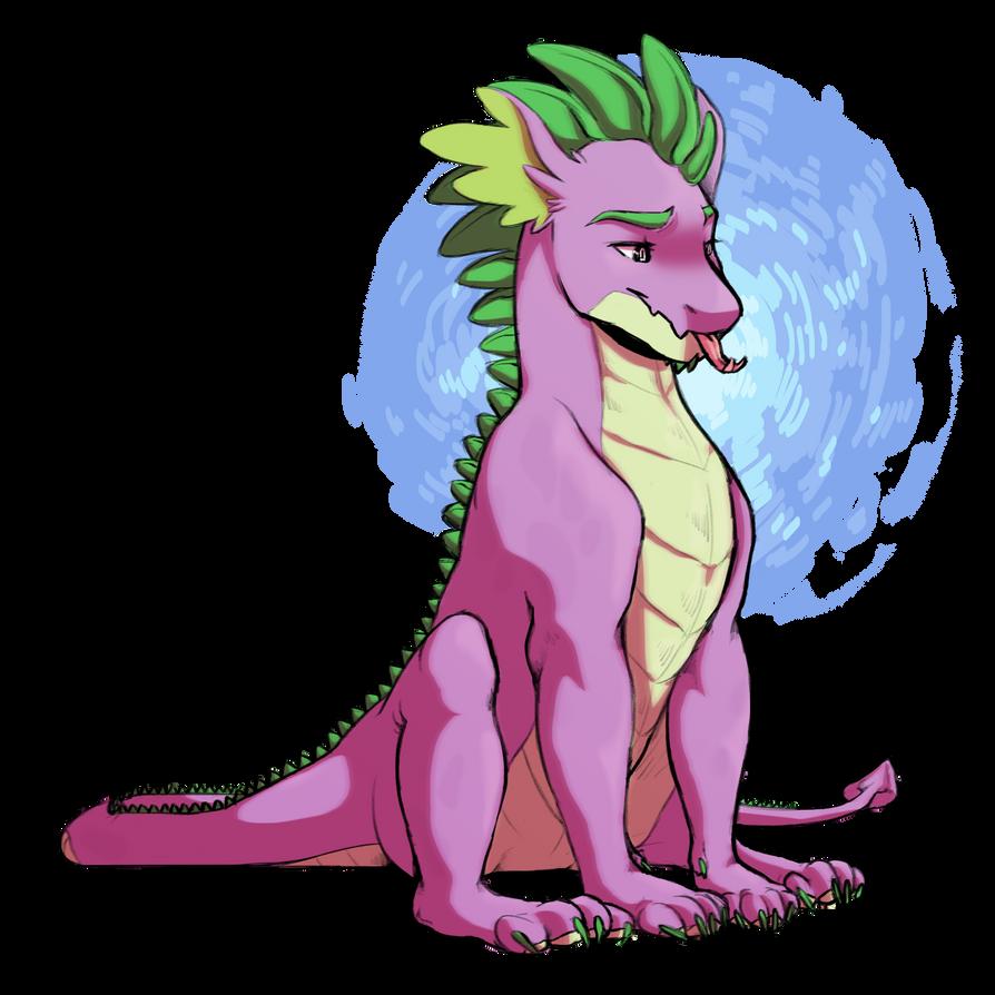Adult Spike by Seleniium