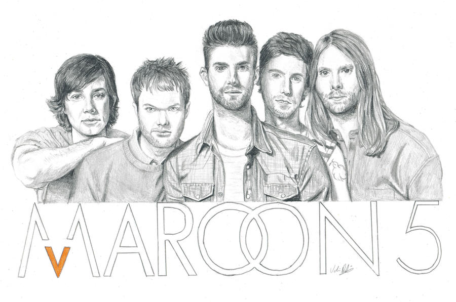 Maroon 5 by DosanWolf