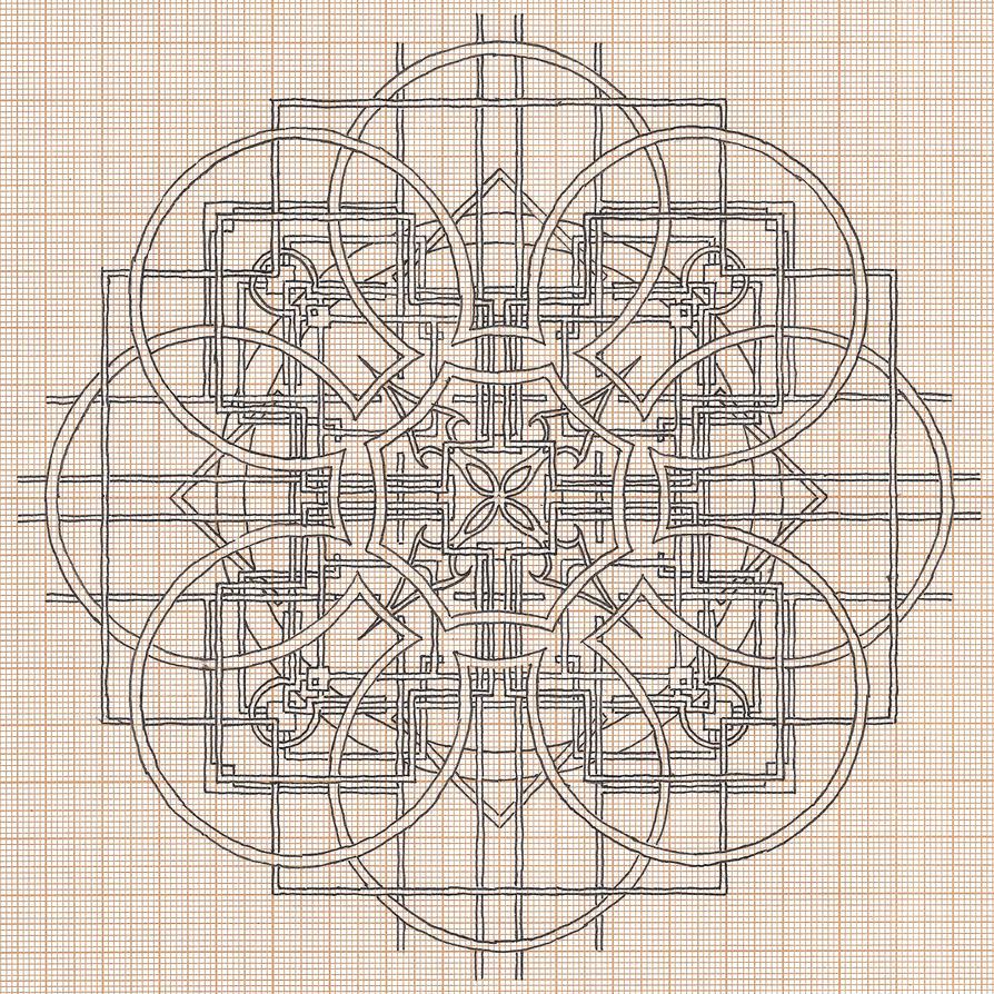 [dessin géométrique bizarre]