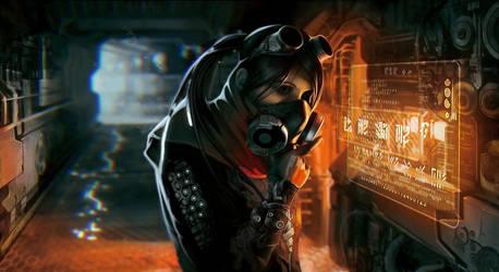 In the cyberpunk world