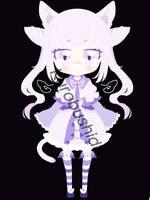 Kemonomimi girl adoptable [OPEN] by KuroBushido