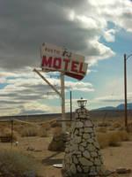 The Rustic Motel by jamestalbertkirk