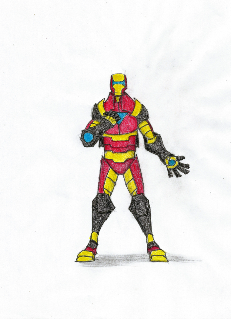 Iron Man Redesign by Newworlds117